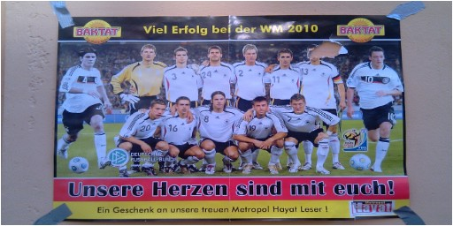 Baktat and Metropol Hayat Support the German Team at the 2010 FIFA World Cup in South Africa